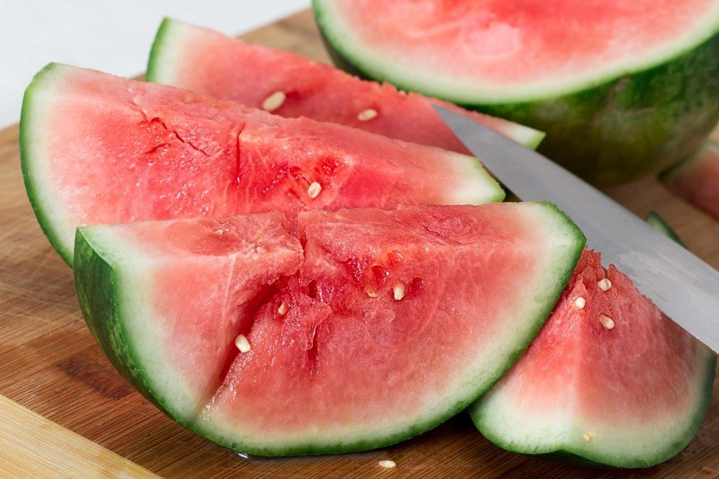 zdravý červený melón